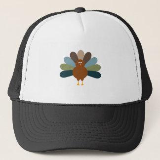 Colorful Happy Thanksgiving Turkey Trucker Hat