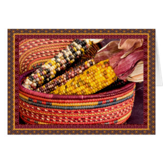 Colorful Harvest I Greeting Card