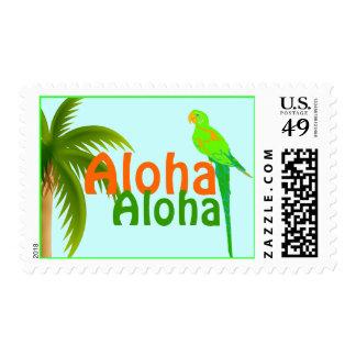 Colorful Hawaii Postage Stamp