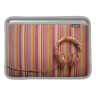 Colorful Headphones Sleeve For MacBook Air