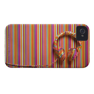 Colorful Headphones iPhone 4 Case-Mate Case