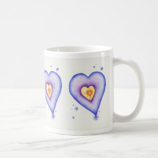 Colorful Heart Coffee Mugs
