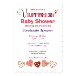 Valentine Day Baby Shower Invitations Zazzle