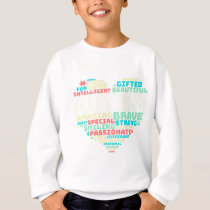 Colorful Heart Puzzle Autistic Autism Awareness Sweatshirt