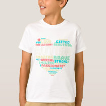 Colorful Heart Puzzle Autistic Autism Awareness T-Shirt