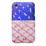 Colorful hearts Case-Mate iPhone 3 cases