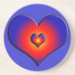 COLORFUL HEARTS DRINK COASTERS