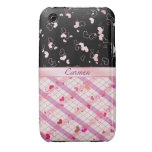 Colorful hearts iPhone 3 Case-Mate cases