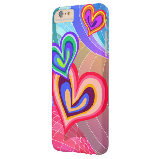 Colorful  Hearts Love Melody Barely There iPhone 6 Plus Case