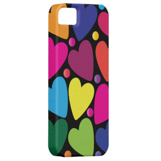 Colorful Hearts Phone Case iPhone 5 Case