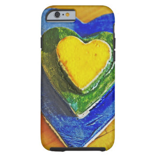 Colorful Hearts Tough iPhone 6 Case