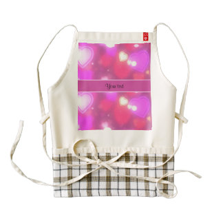 Colorful Hearts Zazzle HEART Apron