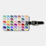 Colorful Herd Bag Tag at Zazzle
