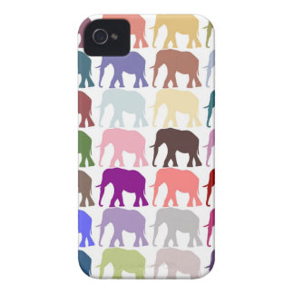 Colorful Herd iPhone 4 Cover
