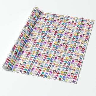 Colorful Herd Gift Wrap