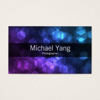 Colorful Hexes Business Card
