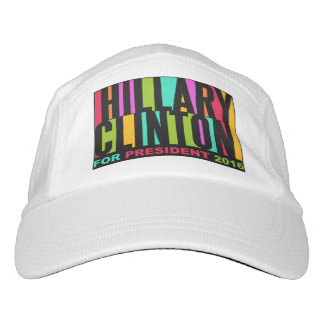 Colorful Hillary Clinton 2016 hat
