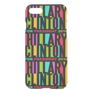 Colorful Hillary Clinton 2016 phone cases