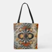 Colorful Hmong Pattern Art Tote Bag
