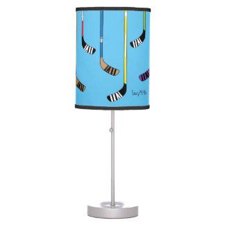 Colorful Hockey Sticks Lamp