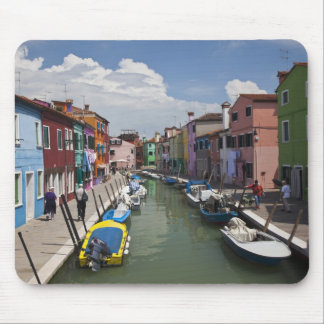 Colorful homes along canal on the island of mouse pad