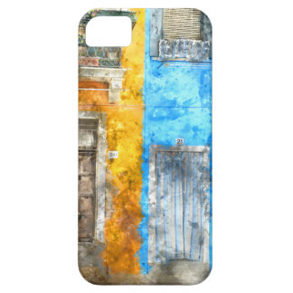 Colorful Homes in Burano Italy near Venice iPhone SE/5/5s Case