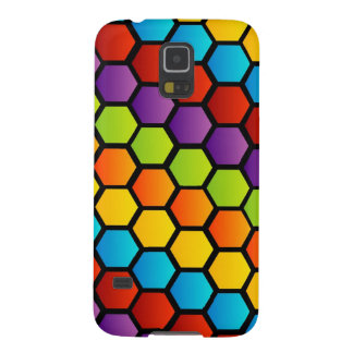 Colorful honeycell galaxy s5 case