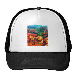 Colorful Hoodoos in Bryce Canyon National Park Hat