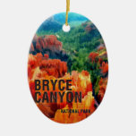 Colorful Hoodoos in Bryce Canyon National Park Ornaments