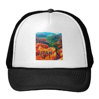 Colorful Hoodoos in Bryce Canyon UTAH Trucker Hats