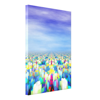 Colorful Horizon Canvas Print