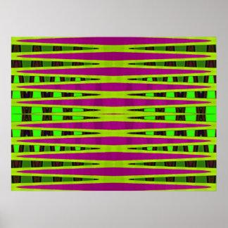 Colorful Horizon Poster