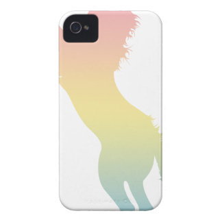 Colorful Horse iPhone 4 Cover