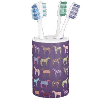 Colorful Horse Pattern Bath Sets