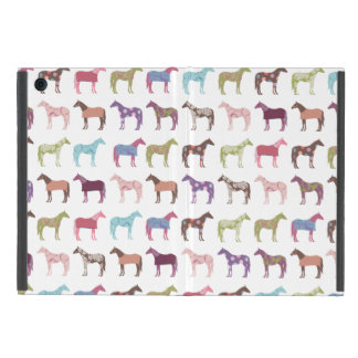 Colorful Horse Pattern Cover For iPad Mini