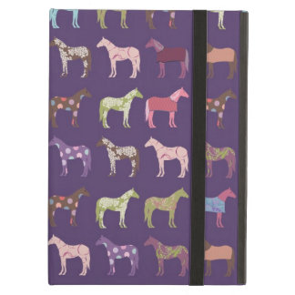 Colorful Horse Pattern iPad Air Cover