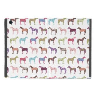 Colorful Horse Pattern iPad Mini Case