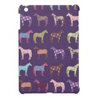 Colorful Horse Pattern iPad Mini Cases