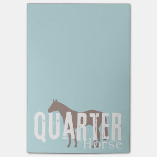 Colorful Horse Pattern Post-it Notes