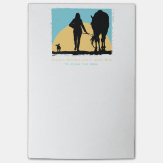 Colorful Horse Pattern Post-it® Notes