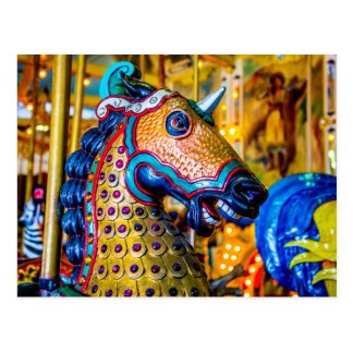 Colorful Horse Postcard