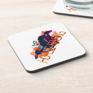 Colorful Horse Racing Coasters