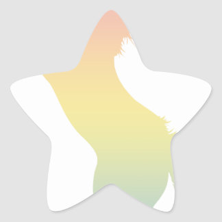 Colorful Horse Star Sticker