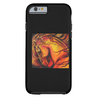 Colorful Horse Tough iPhone 6 Case
