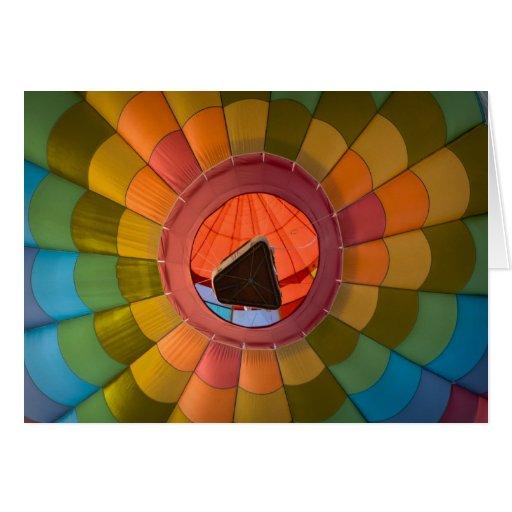 Colorful Hot Air Balloon Congratulations Cards