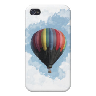 Colorful Hot Air Balloon iPhone 4/4S Case
