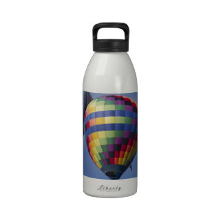 Colorful Hot Air Balloon Race Drinking Bottle