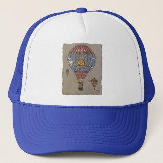 Colorful Hot Air Balloon Trucker Hat
