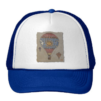 Colorful Hot Air Balloon Trucker Hat