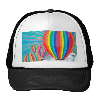 Colorful Hot Air Balloons 2 Trucker Hat